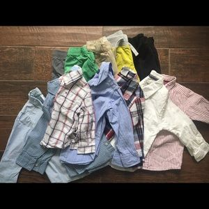 Baby boy toddler boy clothes lot size 24 mo to 2t